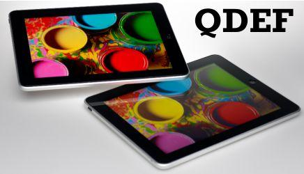 QDEF - A Stepping Stone or Alternative to OLED?