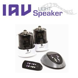 IAV LightSpeaker LS5 series of wireless speaker systems