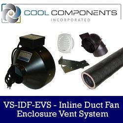 Cool Components - Remote Venting Solution for Equipment Rooms and Closets