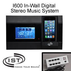 IntraSonic Technology - I600 In-Wall Digital Stereo Music System