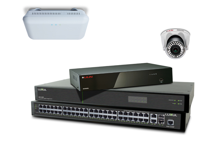 Luxul and Lilin PoE Hardware